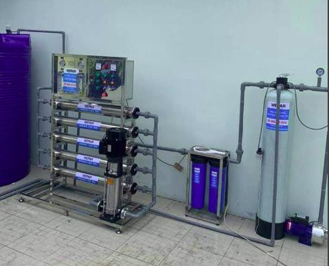 Máy lọc nước mặn, nước lợ Model PB1000LPH 1000 lít/giờ