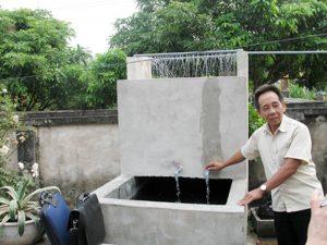 Các bước tiến hành xây bể lọc phèn